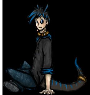 Human Kyro A Small Sketch By Bluedogonalog On Deviantart