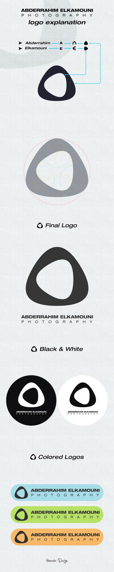 Abderrahim Elkamouni Photography Logo Explanation by HAZARDOS