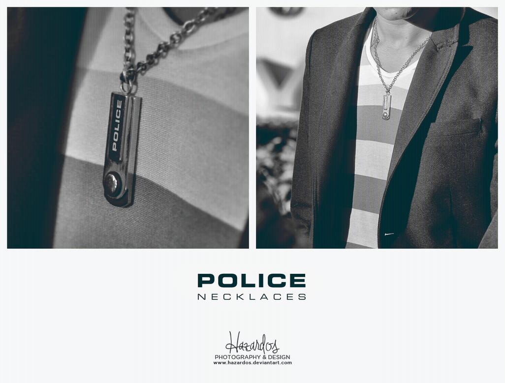 Police Necklaces by HAZARDOS