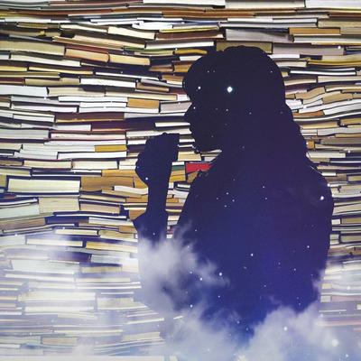 Books  Coffee by HAZARDOS