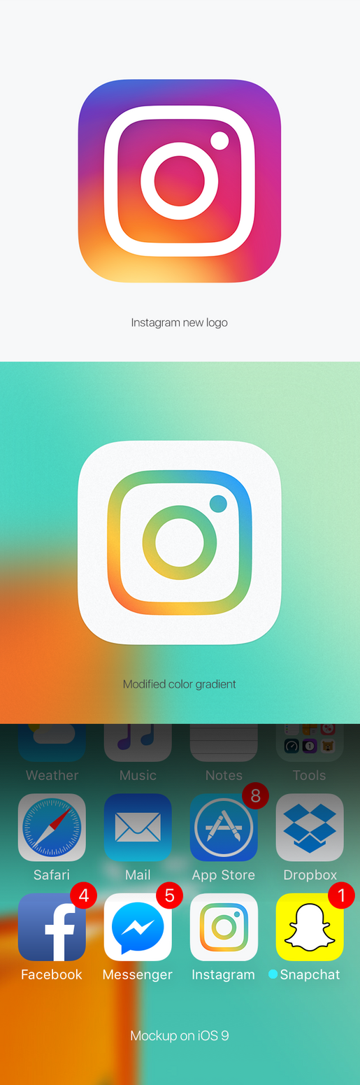 Instagram new logo (modified) by HAZARDOS