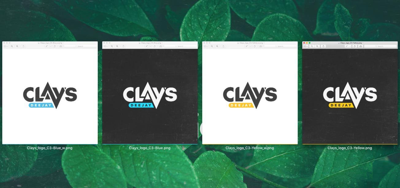Clays Deejay logo concept 3 (WIP) by HAZARDOS