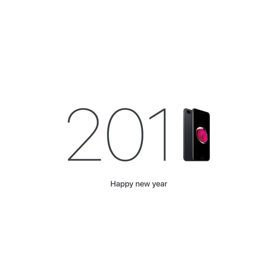 Happy New Year 2K1iPhone7 by HAZARDOS