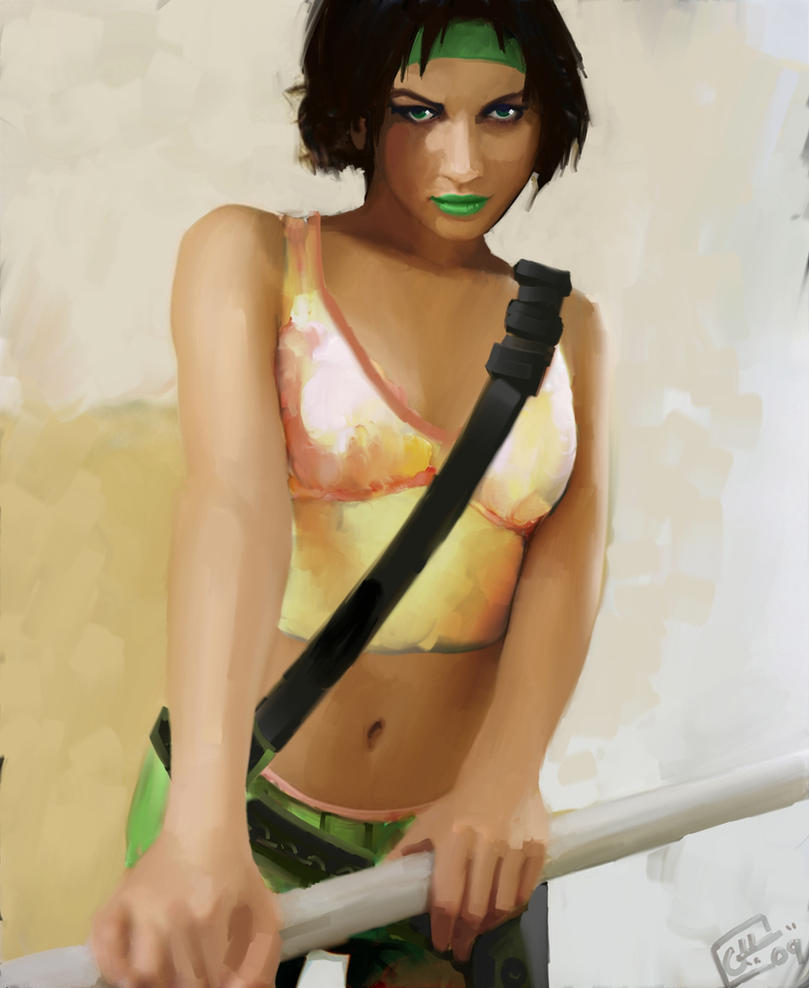 Jade - Beyond Good and Evil by Garrenh