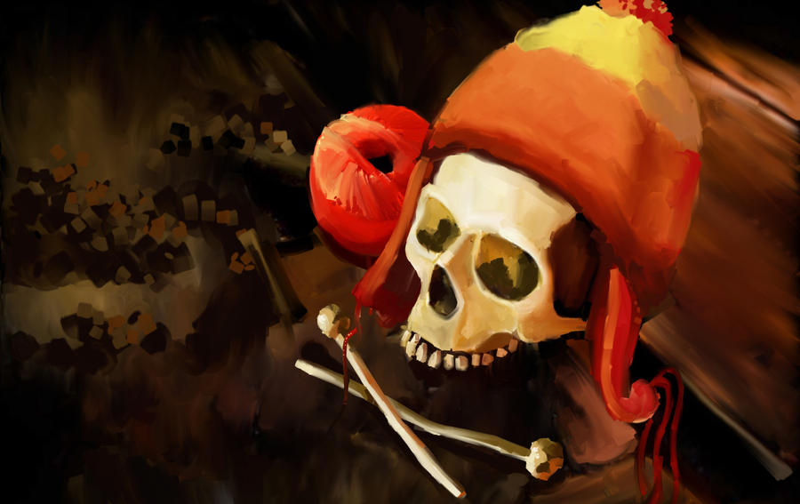 Pirate Knitting by Garrenh