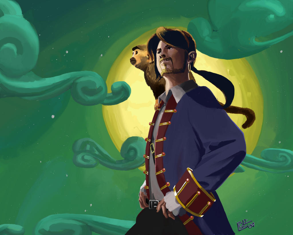 Return to Monkey Island by Garrenh