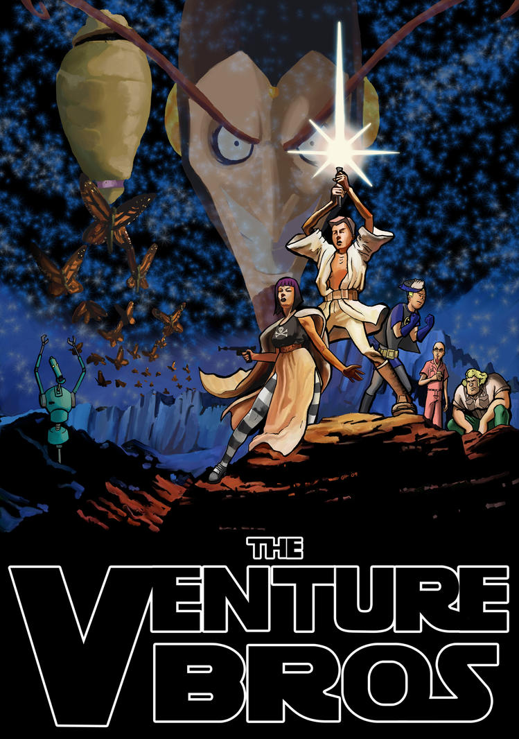 The Venture Bros by Garrenh