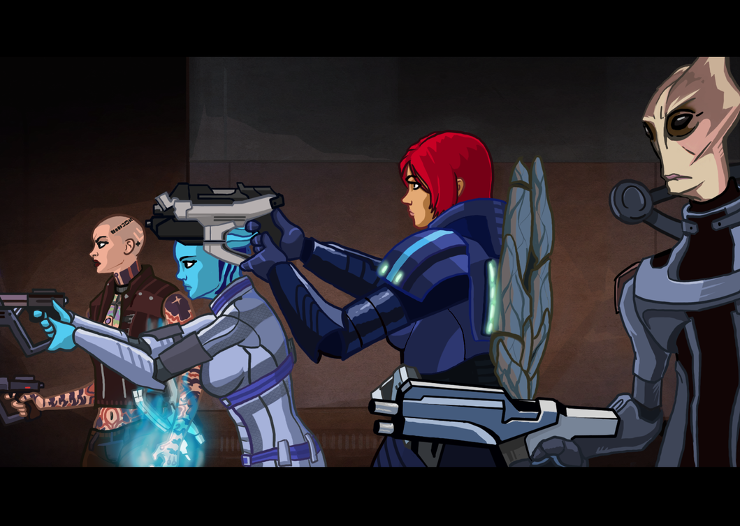 Mass Effect Cartoon Mock-Up 5 by Garrenh