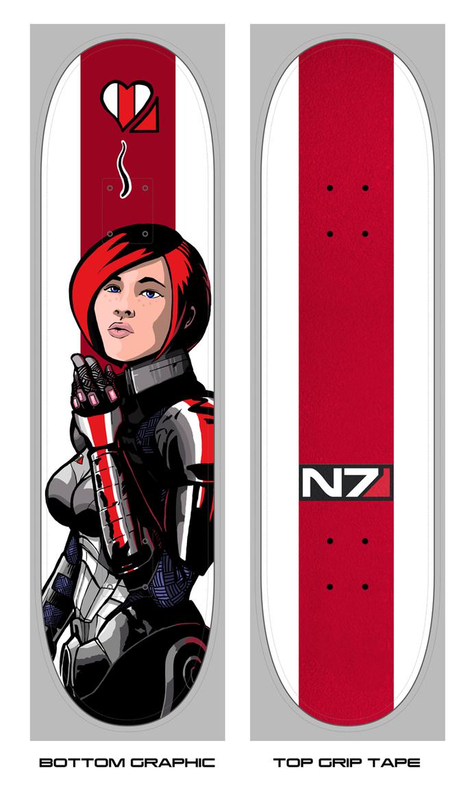 Skateboard Design by Garrenh