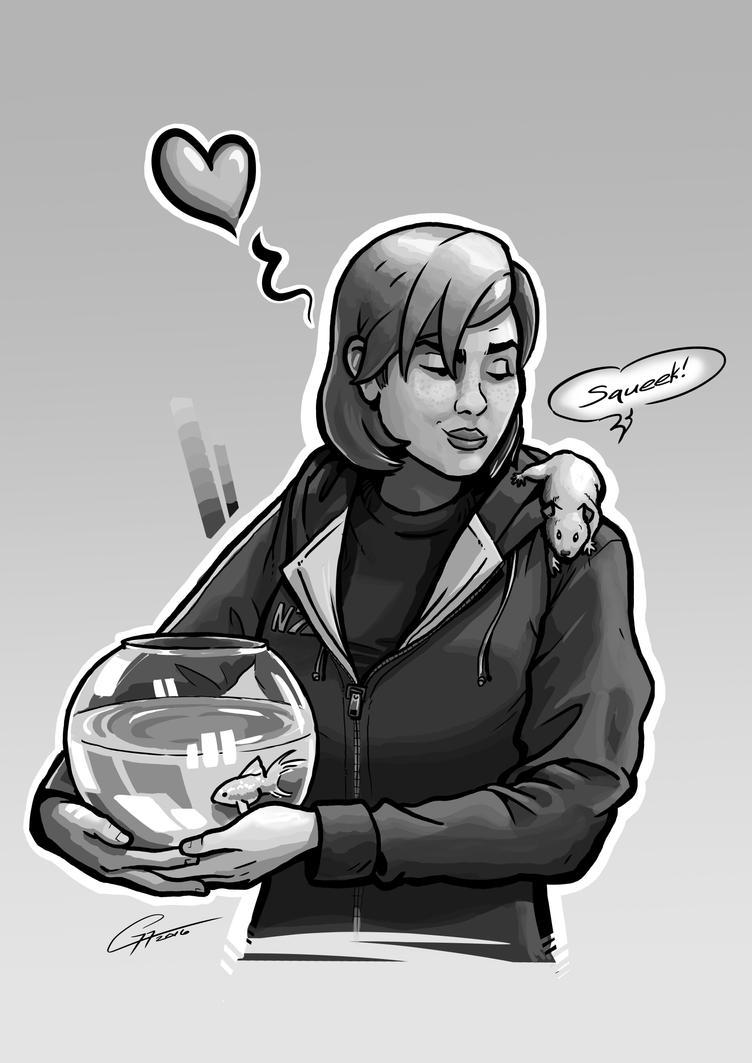 Shepard's Love Interests by Garrenh