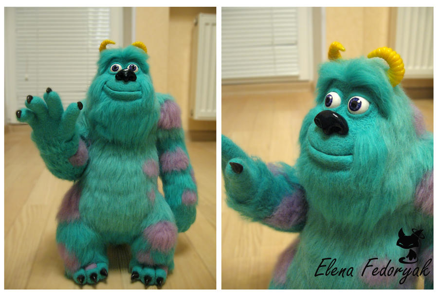 "Sulley, ""Monsters, Inc."" by KittenBlackUA"