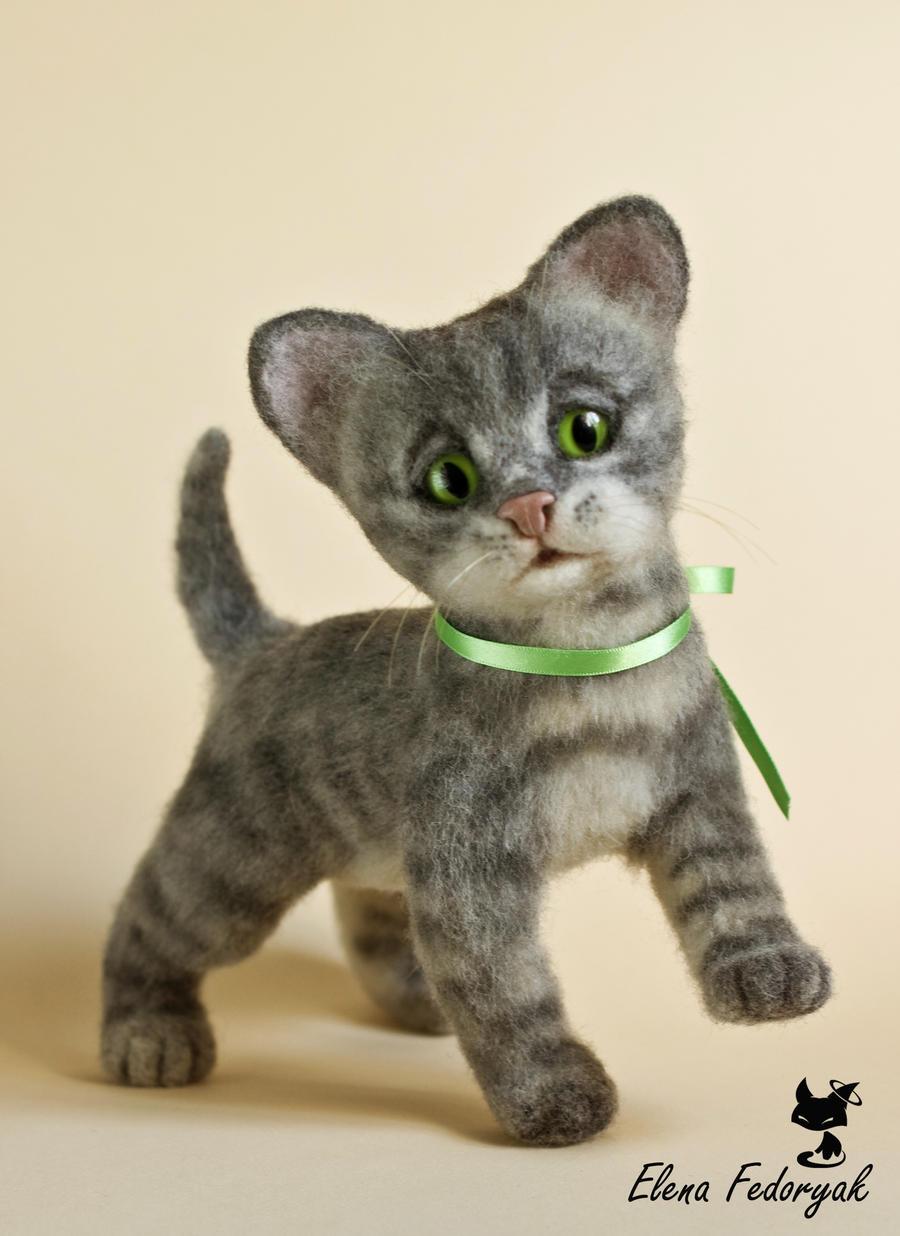 """Little kitten """"Totoshka"""" by KittenBlackUA"""