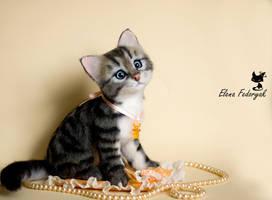little kitten Businka (bead) by KittenBlackUA