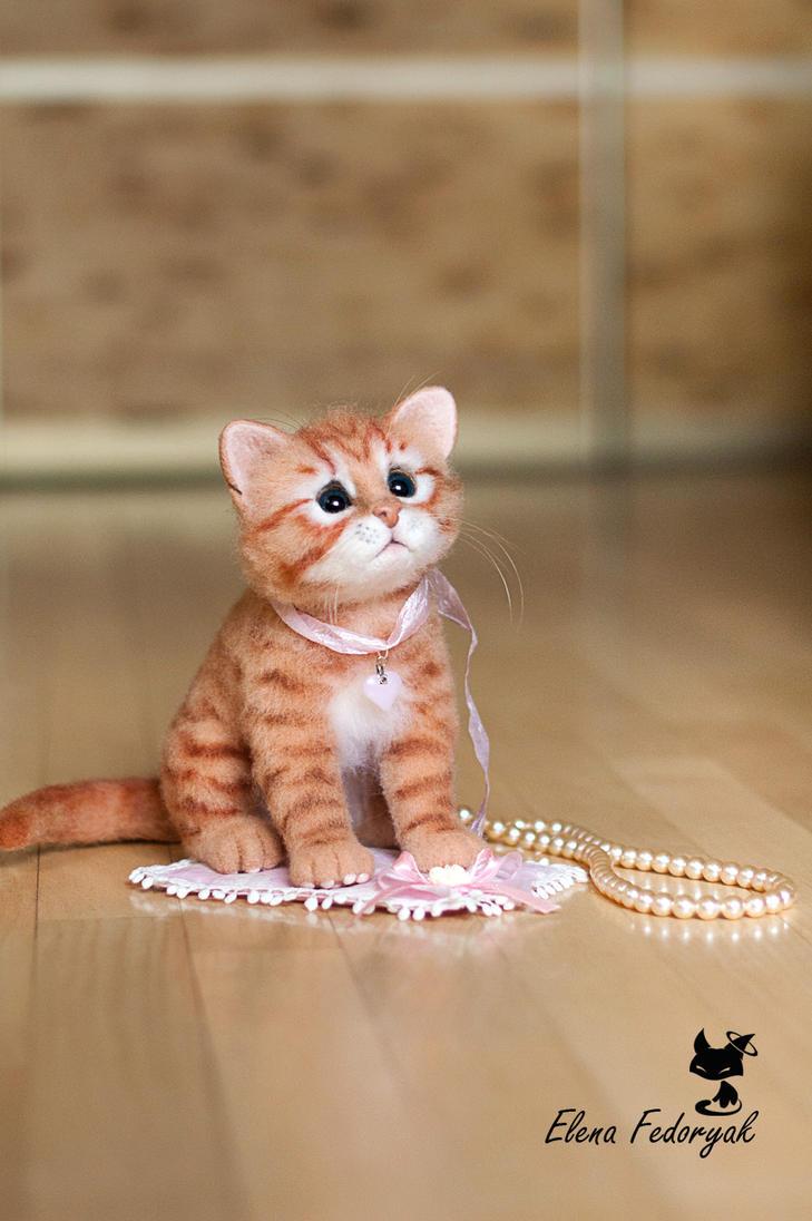Realsize kitten by KittenBlackUA