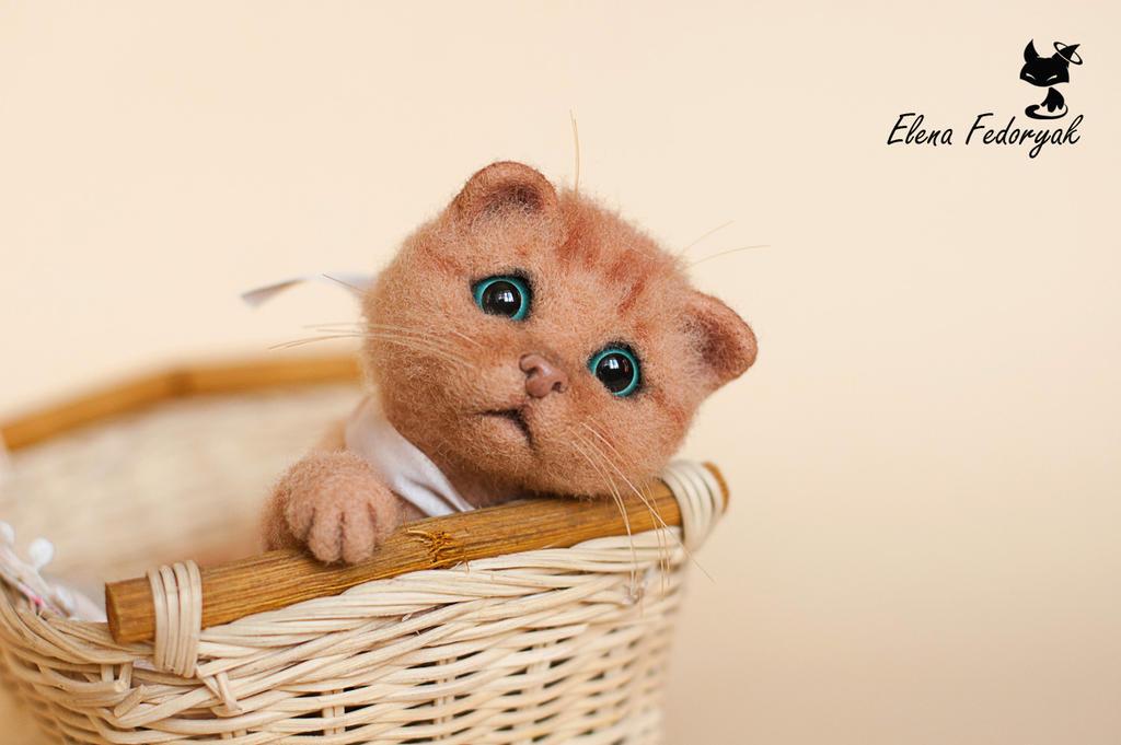 miniature kitten by KittenBlackUA