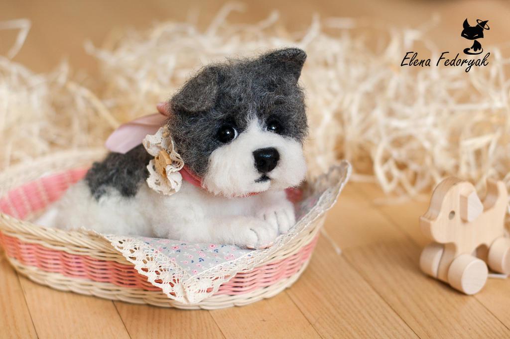Cute puppy by KittenBlackUA