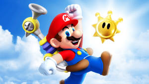 Super Mario Sunshine Wallpaper