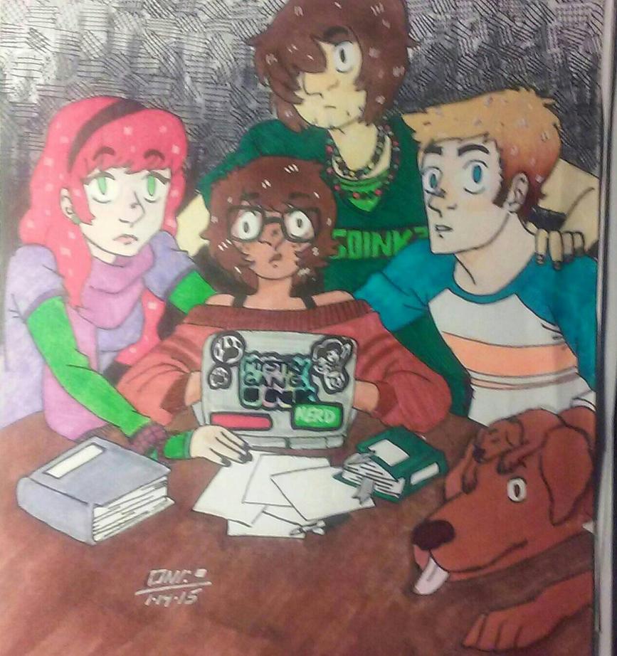 Scooby Doo by wallaswells1