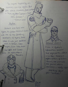 Captain America Redesign:Zemo