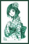 try Copic: Midori Chan
