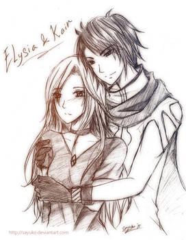 Comm: Kain and Elysia