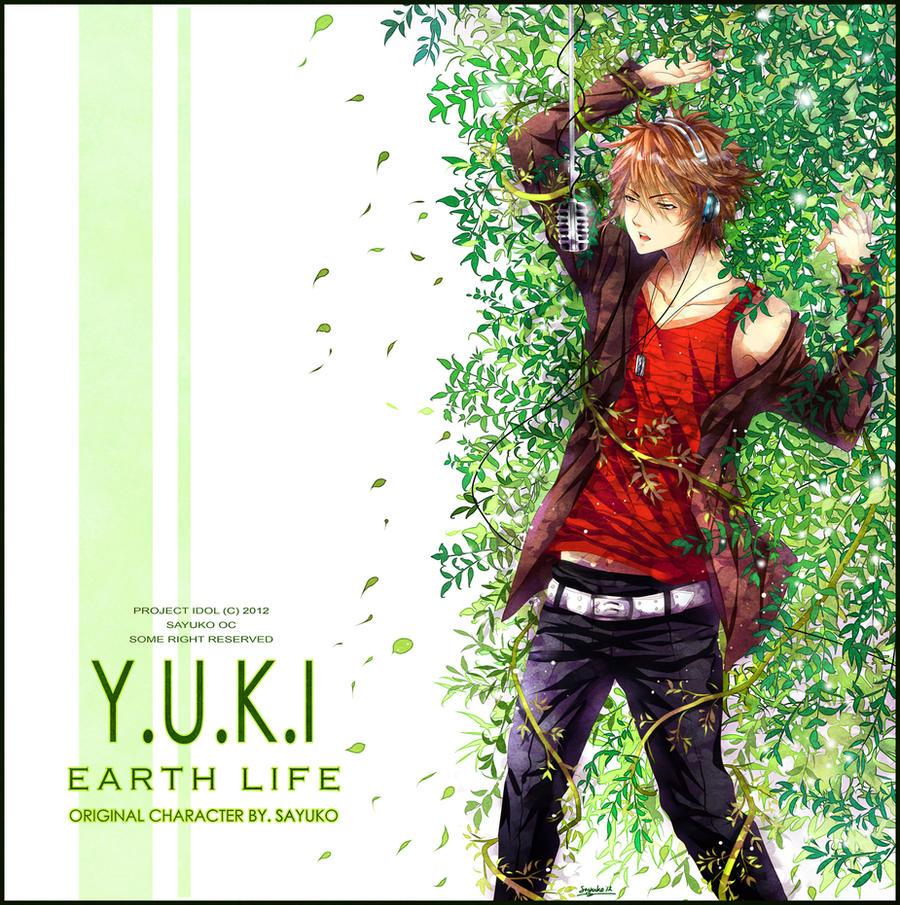 YUKI Album cover by sayuko