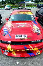 HKS Garage R DCM S13 by simplycomplexed