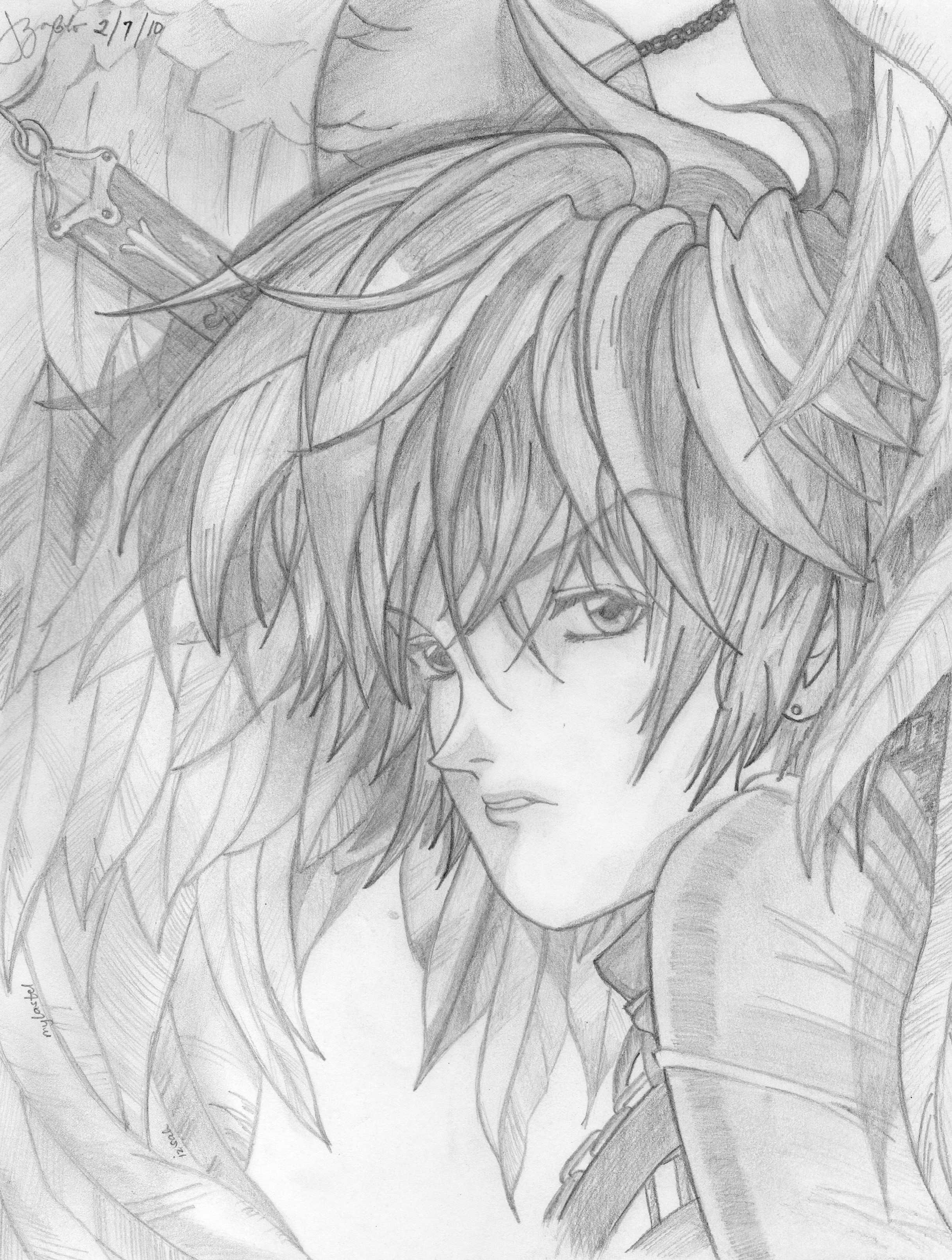 My Handsome Guardian Angel by mylastel on DeviantArt