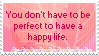 You Don't Have to be... Stamp by mylastel