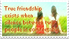 True Friendship... Stamp by mylastel