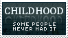 Childhood Stamp by mylastel