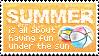 Summer Stamp by mylastel