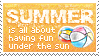 Summer Stamp by mylastel