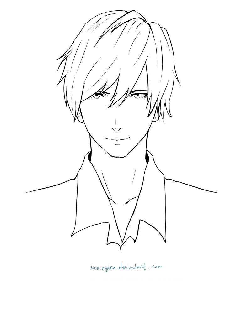 Sai Lineart : Tutorial sai coloring with mouse lineart by kira ayaka