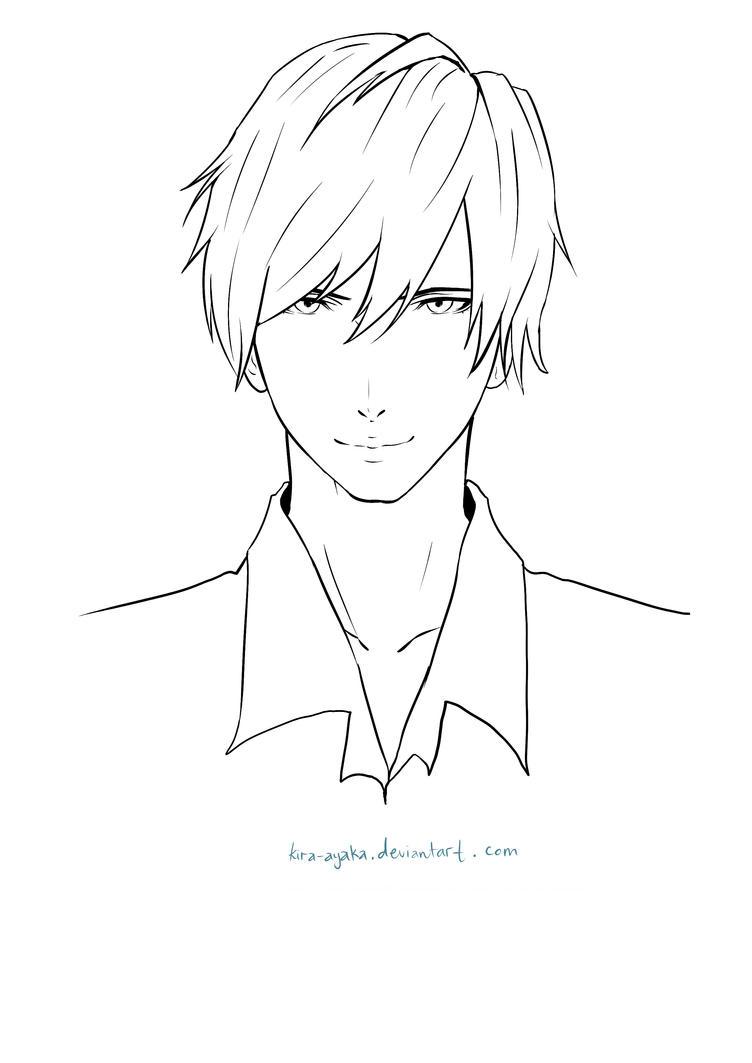 Yamio Lineart : Yamio lineart tutorial line art in sai by himiko