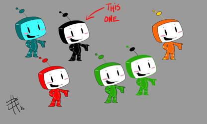 Playfull Robot options by Chocolerian
