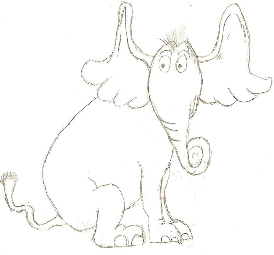 Horton hears aru by natural antagonist on deviantart for Horton hears a who coloring pages