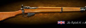 Lee Enfield British WW2 Firearm by Spirit-Knight