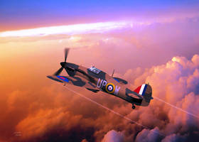 Hawker Hurricane by Spirit-Knight