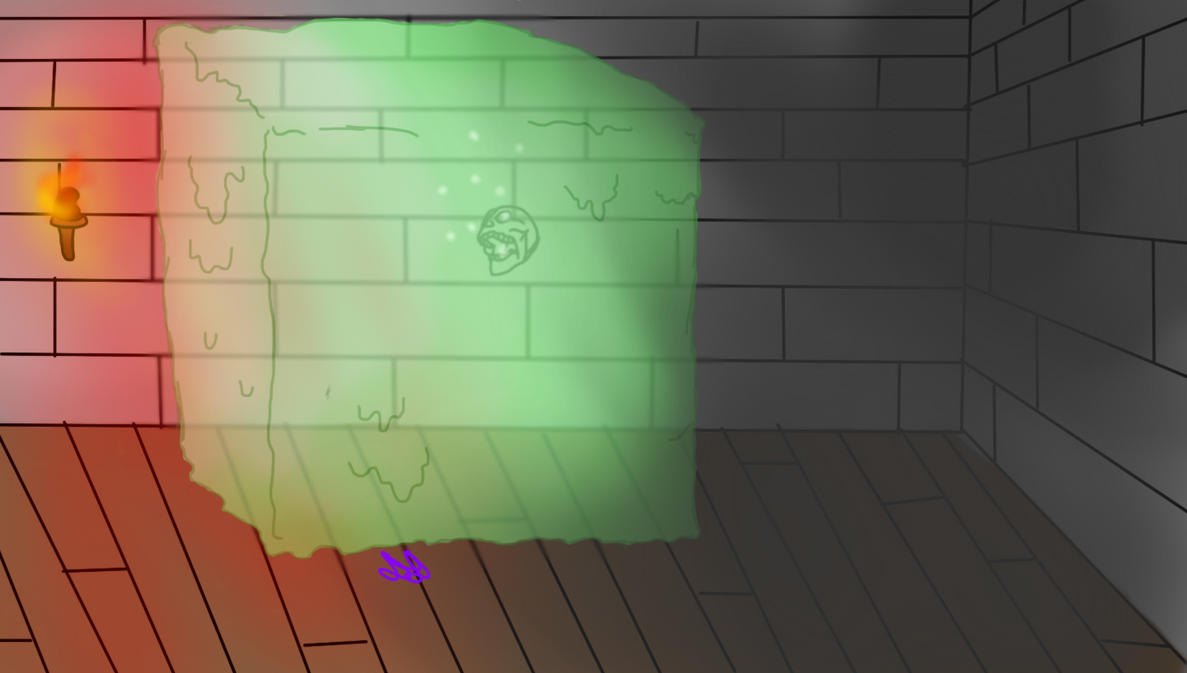Gelatinous Cube by DoodlyDiddly