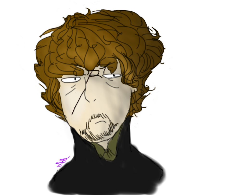When You Draw Tyrion Lannister Instead of a Pear by DoodlyDiddly