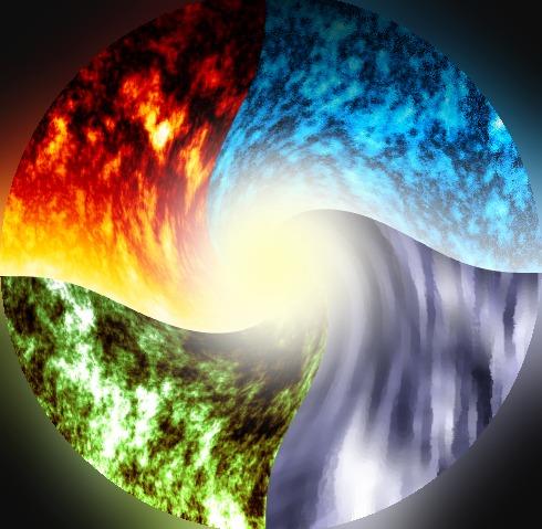 Elements Combine by Zombie-Dude