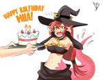 Commision Birthday Miia Halloween