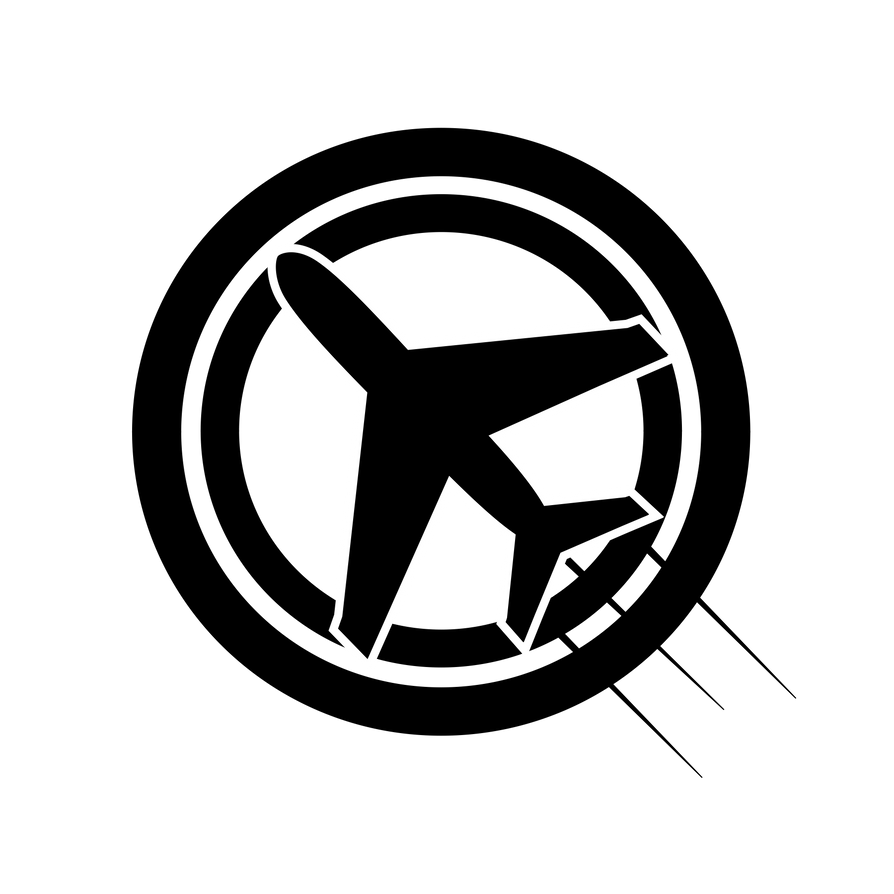 airplane logo by haecy01 on deviantart