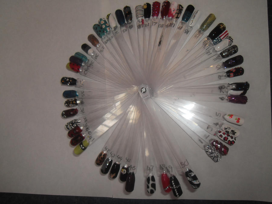nail art wheel by abixoxo on DeviantArt