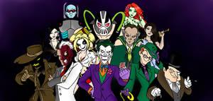 Gotham Rogues Gallery by DarthGuyford