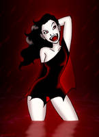 Vamp Girl by DarthGuyford