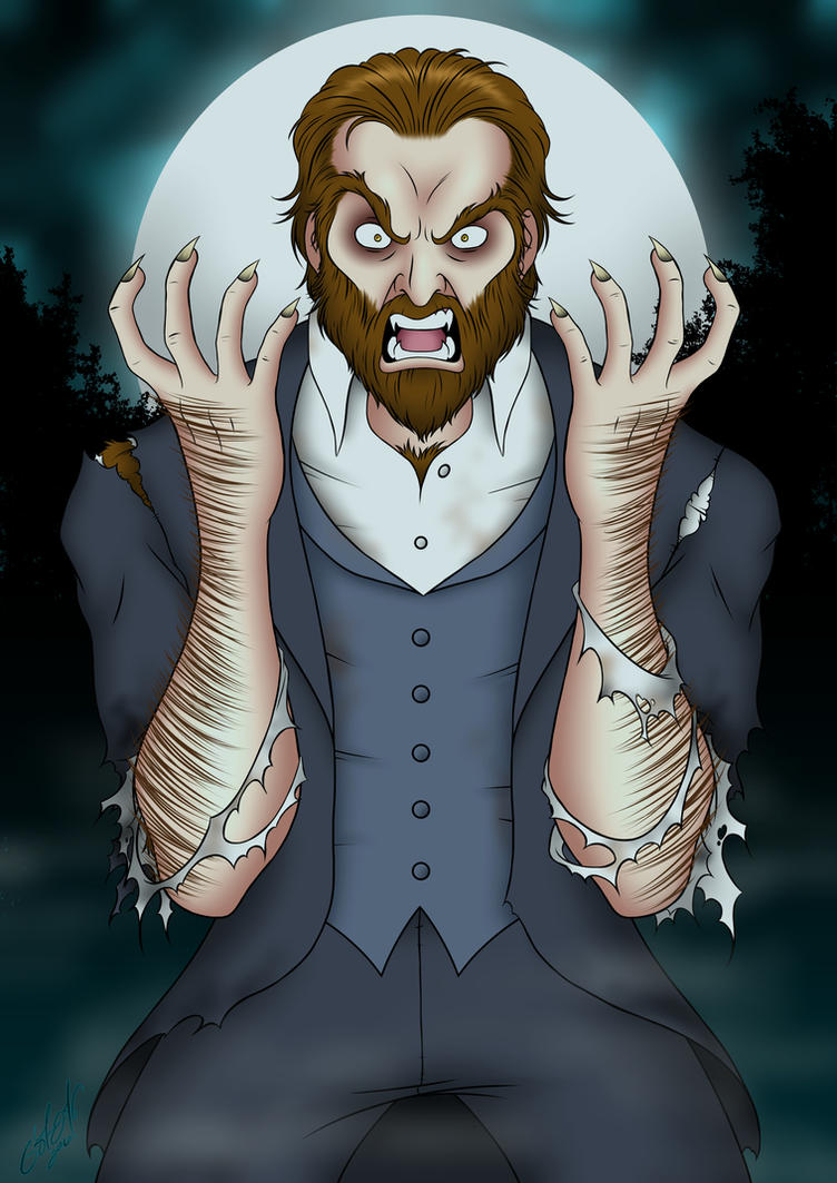 Werewolf Transformation by zirofax on DeviantArt