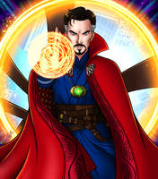 Doctor Strange by DarthGuyford