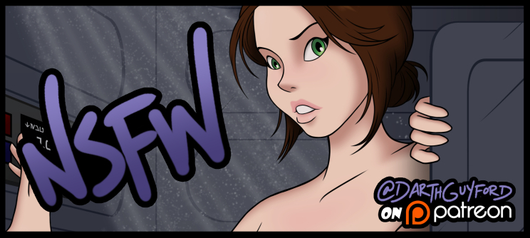 Jyn Erso Pin-Up (NSFW Preview) by DarthGuyford
